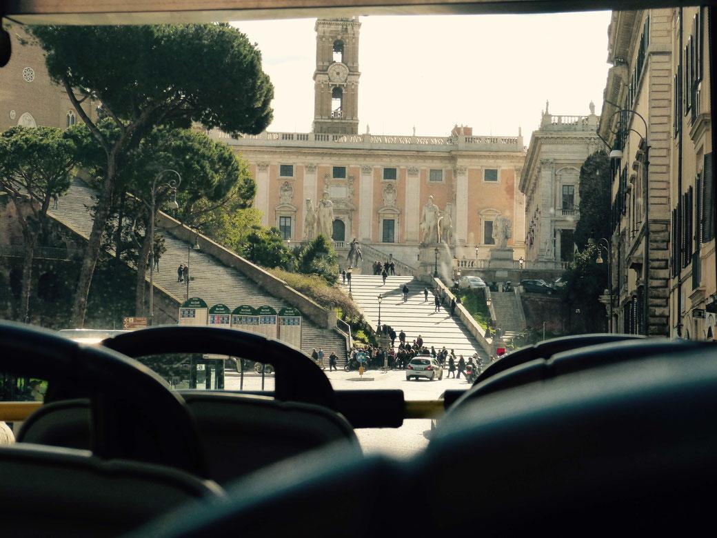 Eine Stadtrundfahrt in Rom