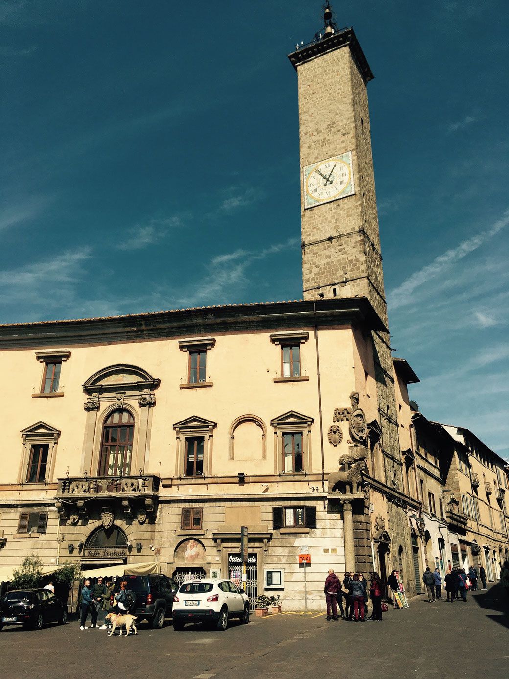 Piazza del Plebiscito in Viterbo