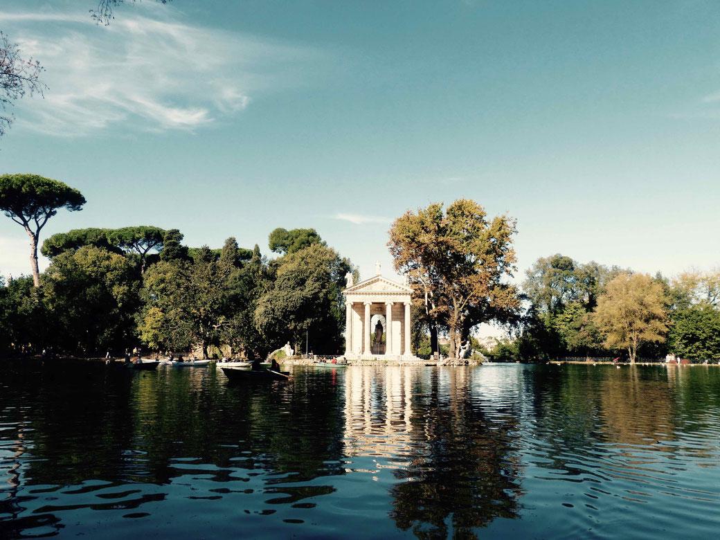 Villa Borghese - Für die kleine grüne Flucht an Ostern in Rom