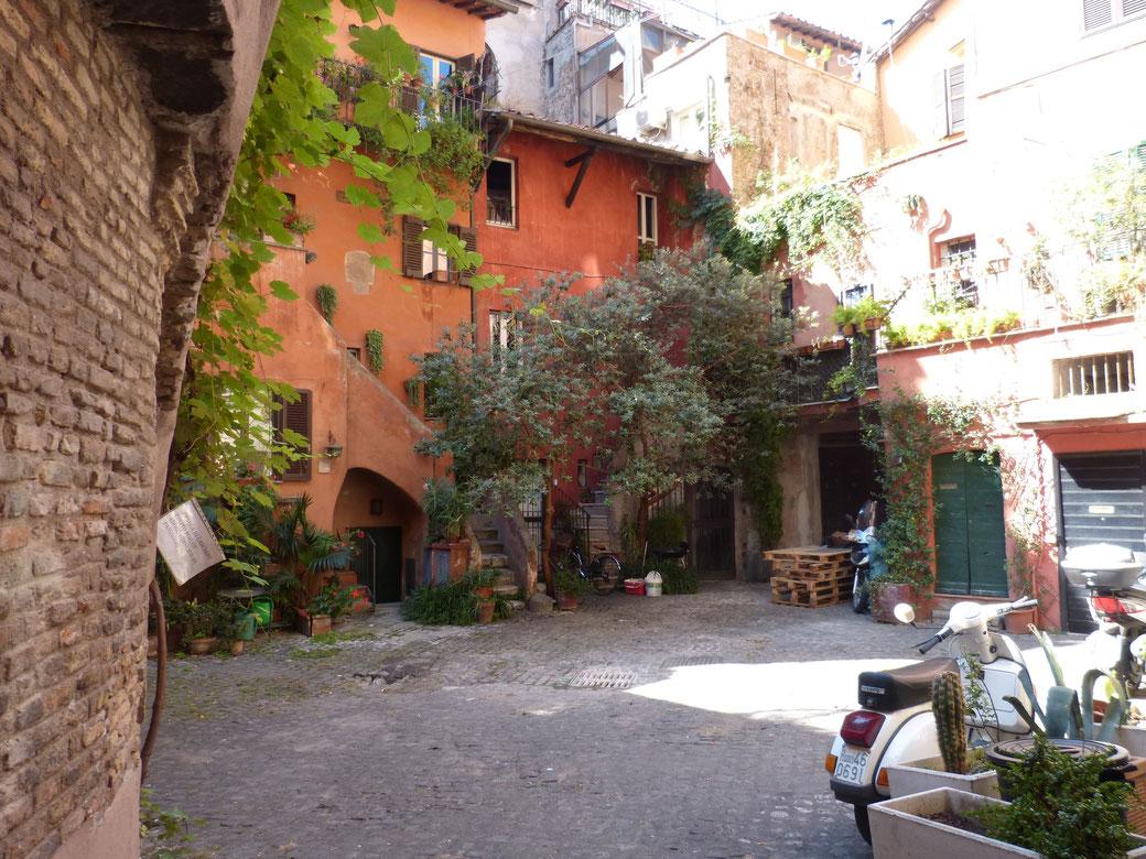 Der Arco dei Acetari liegt etwas versteckt - Suchen lohnt sich aber!