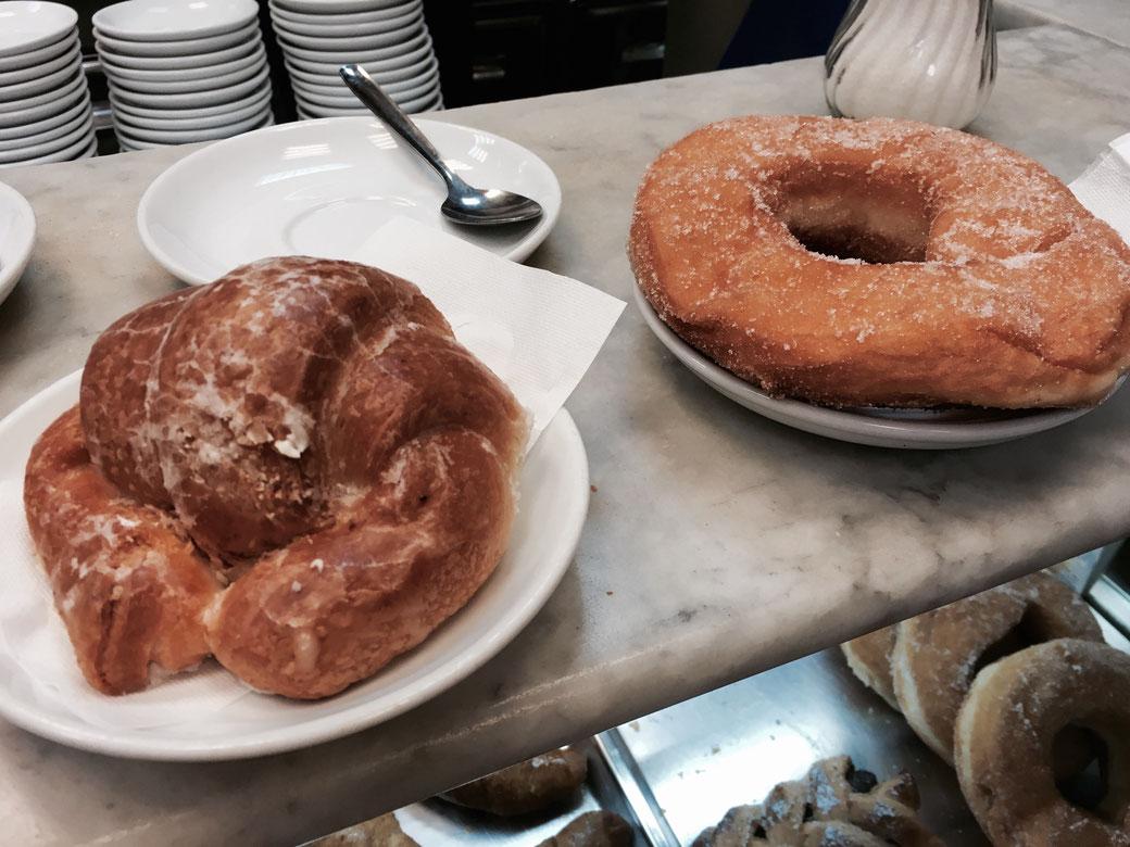 Ein süßes Frühstück auf dem Mercato Trionfale