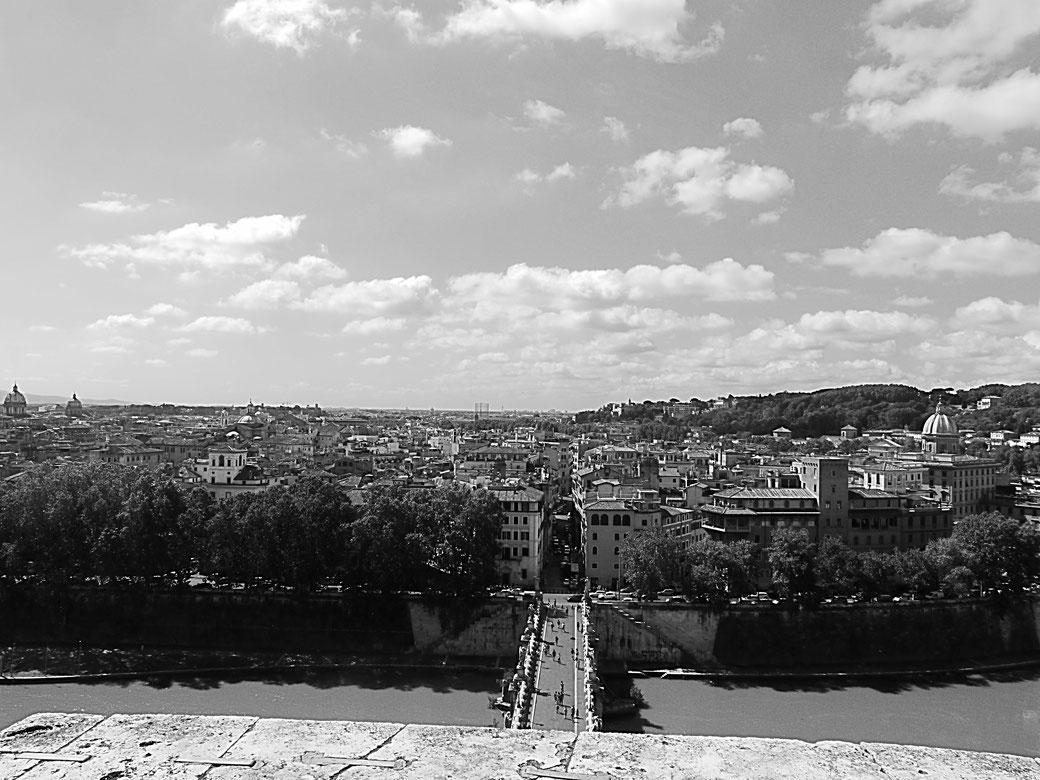 Fantastischer Ausblick aufs Centro storico von Rom