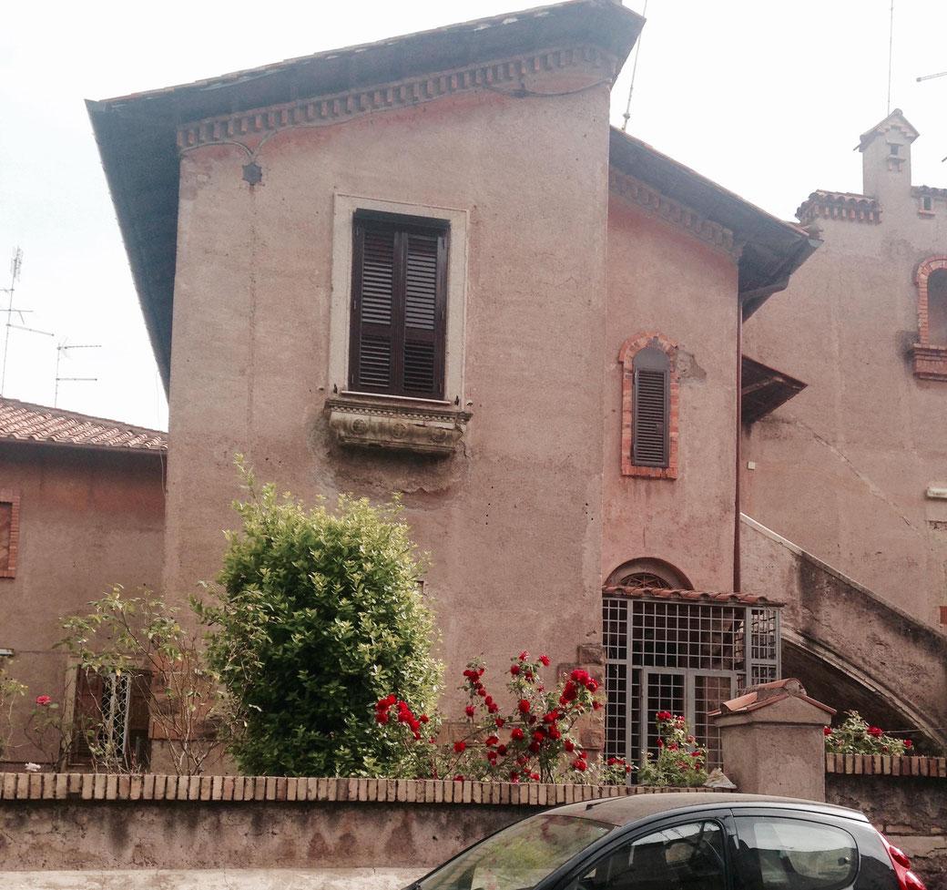 Ein ungewöhnlicher Stadtteil in Rom - Garbatella verprüht in manchen Straßen ländlichen Charme