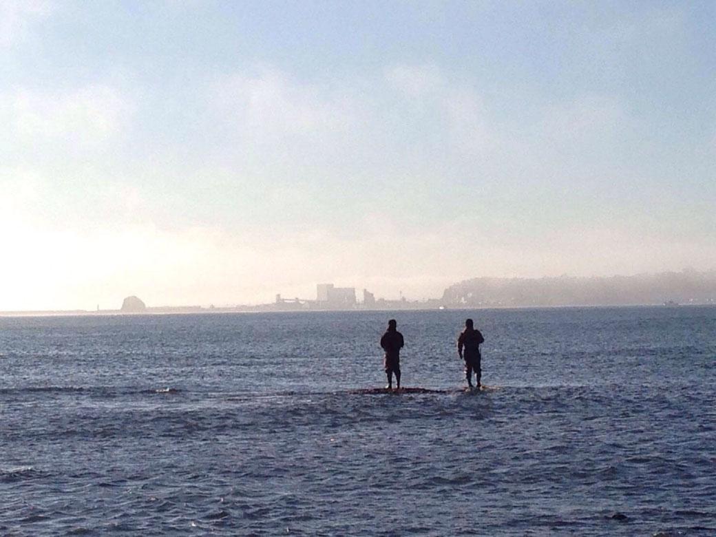 網走の趣味(釣り)写真4(海中)