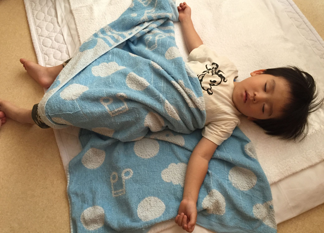かわいい寝顔 写真4(みずきくん)
