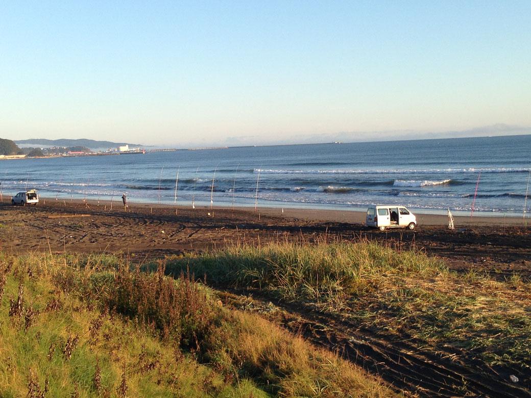 網走の趣味(釣り)写真3(網走の海岸2)
