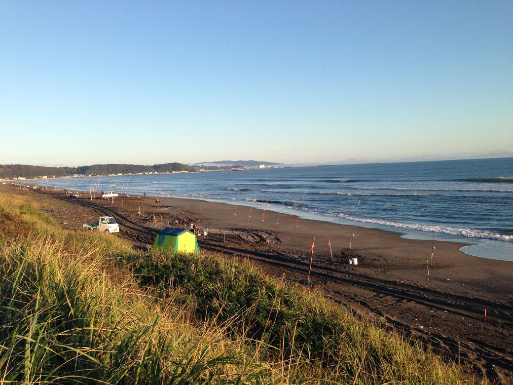 網走の趣味(釣り)写真2(網走の海岸1)