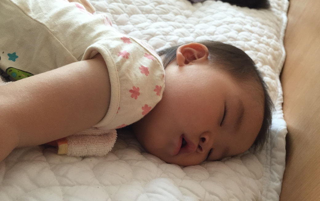 かわいい寝顔 写真1(ほのかちゃん)