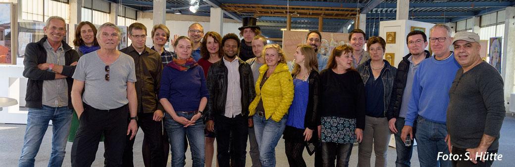 Auf Wiedersehen  zur nächsten Ausstellung in der KUNSTMARKTHALLE HAINHOLZ