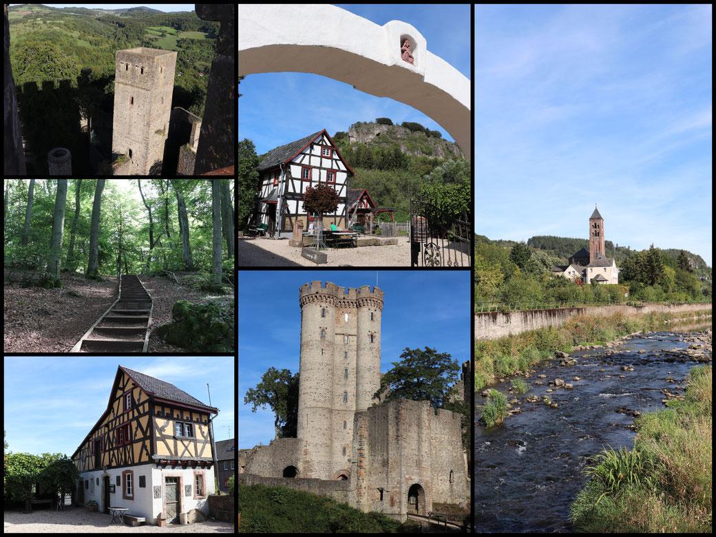 Herzlich Willkommen in den Gerolsteiner Dolomiten! Kleine Collage einiger Highlights dieser heutigen Tour