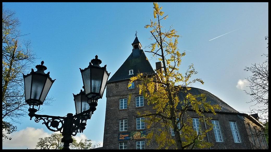 Das Moerser Schloß in der Altstadt