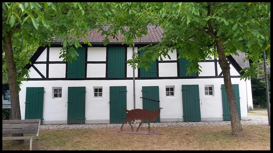 Alt Dombach - im Museumsfreigelände, gratis zu besuchen, der Eintritt ins Museum kostet 4,50 Euro und lohnt sich.
