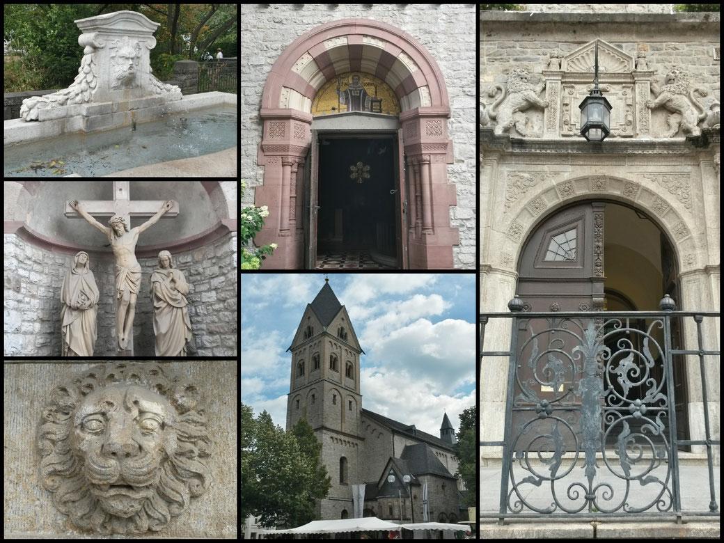 Impressionen von unserem Startpunkt in Bergisch Gladbach