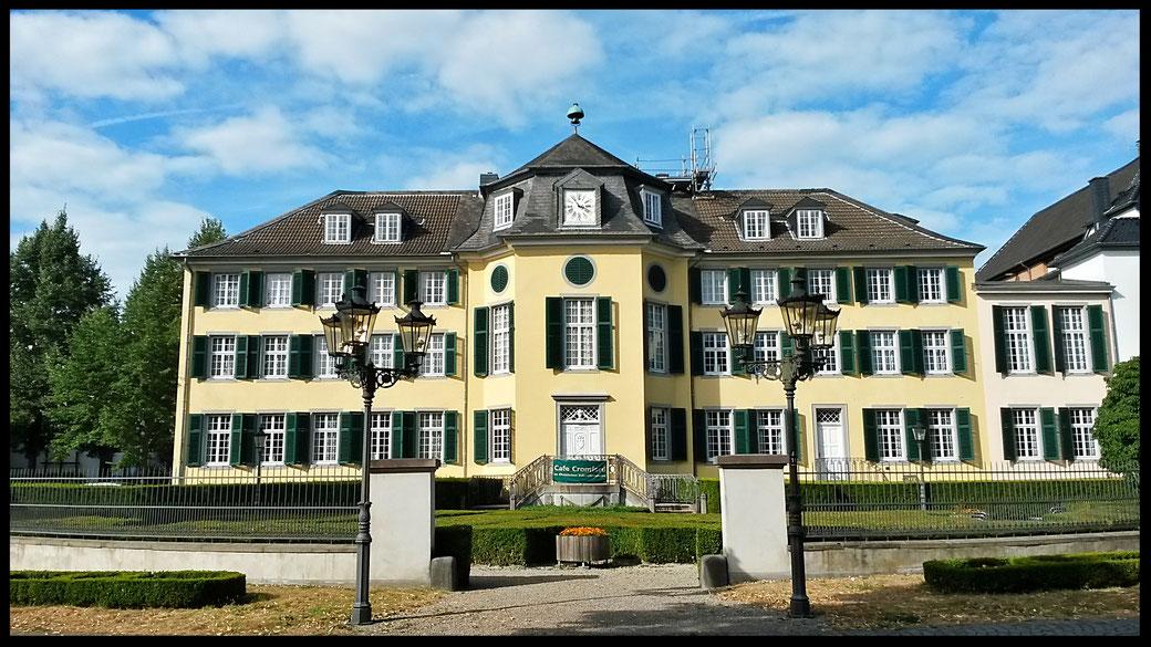 Nobler Firmensitz der  Unternehmerfamilie Brügelmann - heute Teil des LVR-Museums