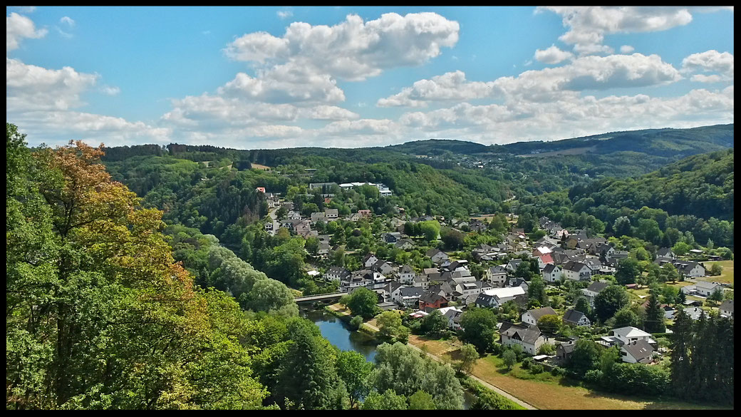 Traumhafte Aussichten im Siegtal, weniger als eine Fahrstunde von Köln entfernt