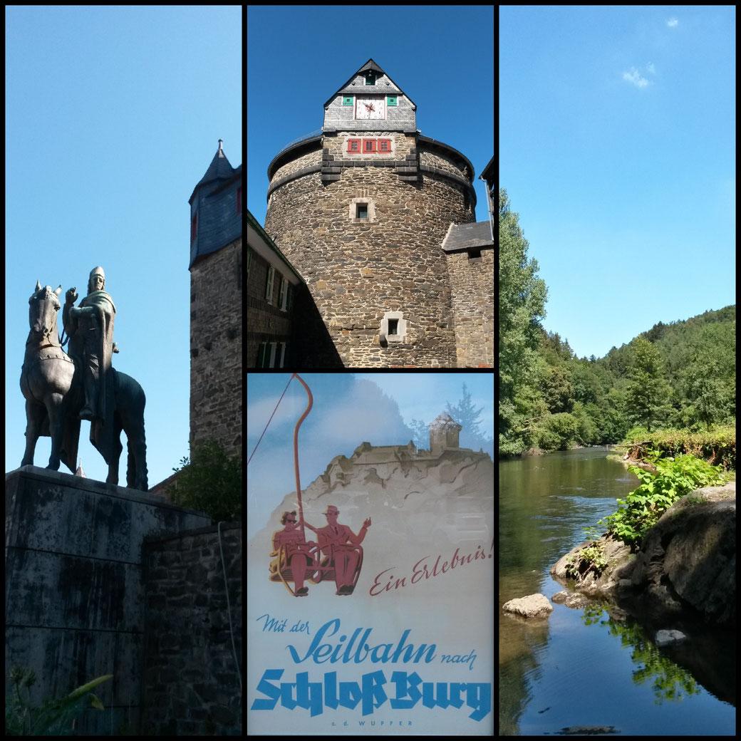 Impressionen vom Burgherrn Engelbert bis zur Wupper - einfach schön.