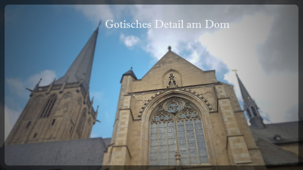 Der Wiederaufbau mit den Stilelementen der Gotik ist gelungen: Willibrord Dom im Juli 2020
