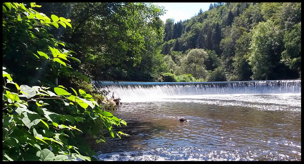 Wasserfälle an der Wupper: der Amazonas des Bergischen Landes