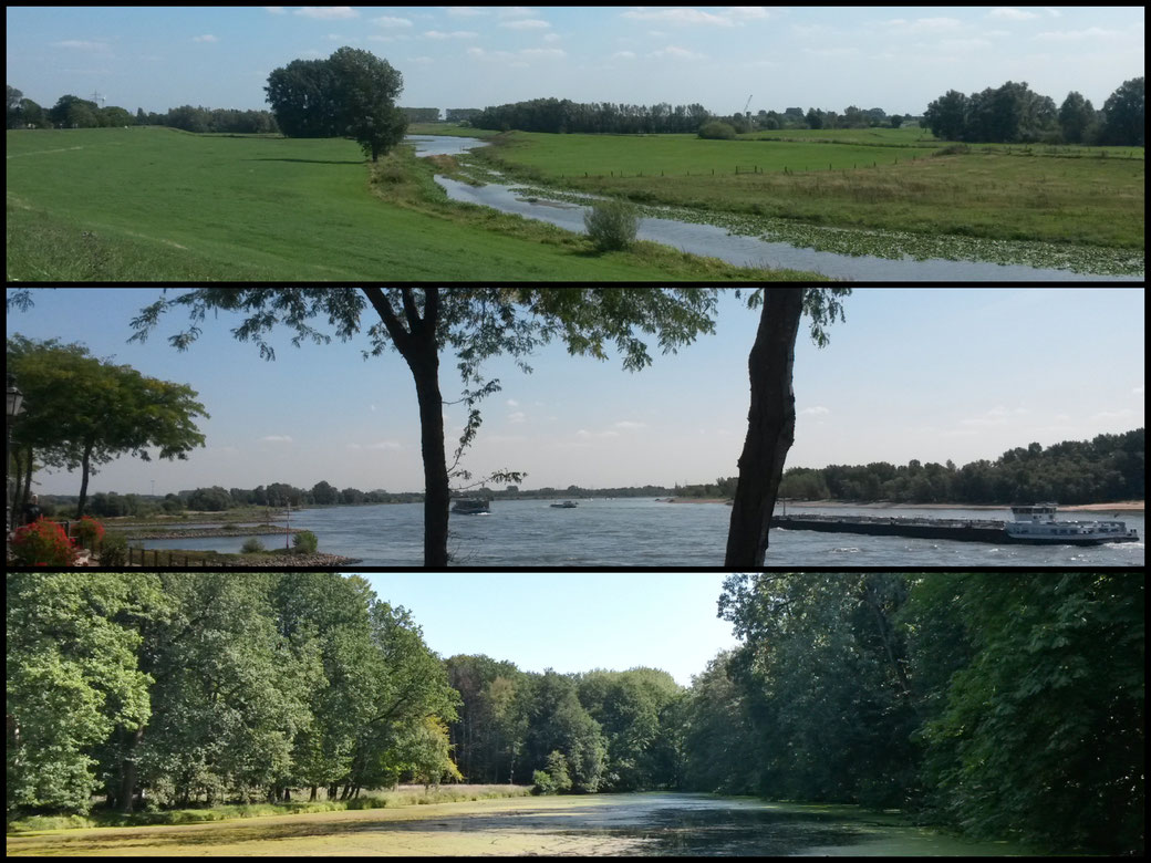 3-Flüsse-Route, Wasser ist das prägende Element