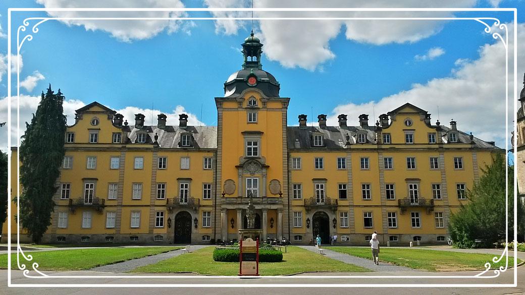 Hauptansicht Schloss Bückeburg
