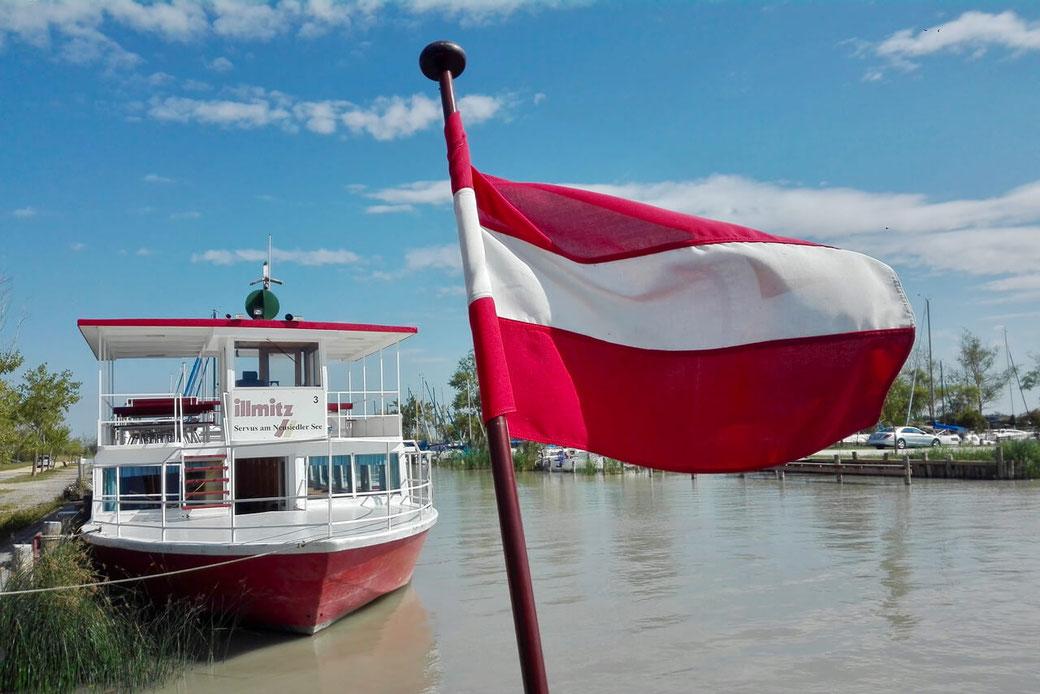 Mit dem Solarboot unterwegs am Neusiedler See