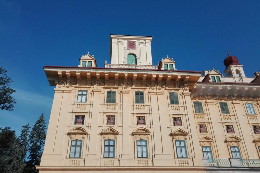 Das Schloss Esterhazy - ein würdiger Abschluss unseres abwechslungsreichen Wochenendes!