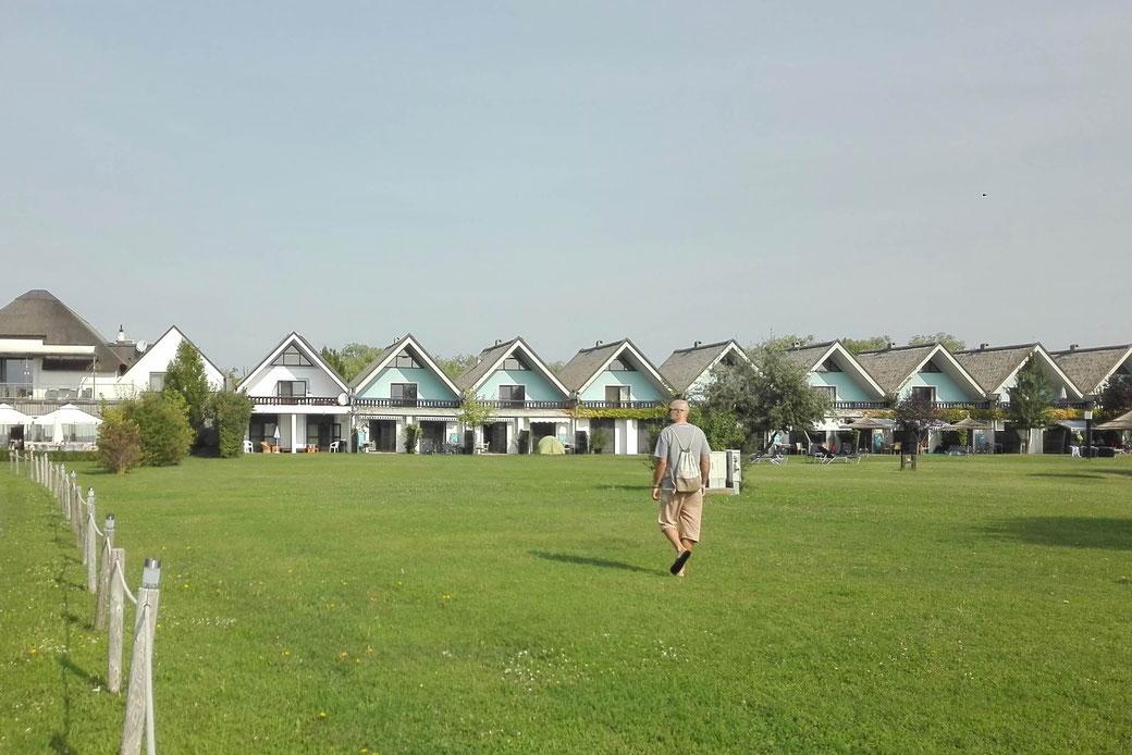 Unsere Unterkunft am Neusiedler See: Das Hoteldorf Seepark Weiden