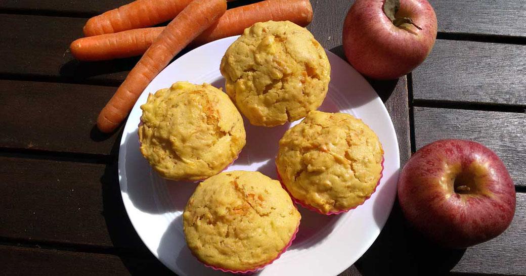 Blog Rezept Karottenmuffins