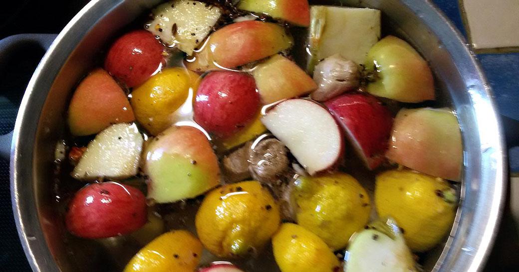 Rezept Ingwer-Obstgetränk