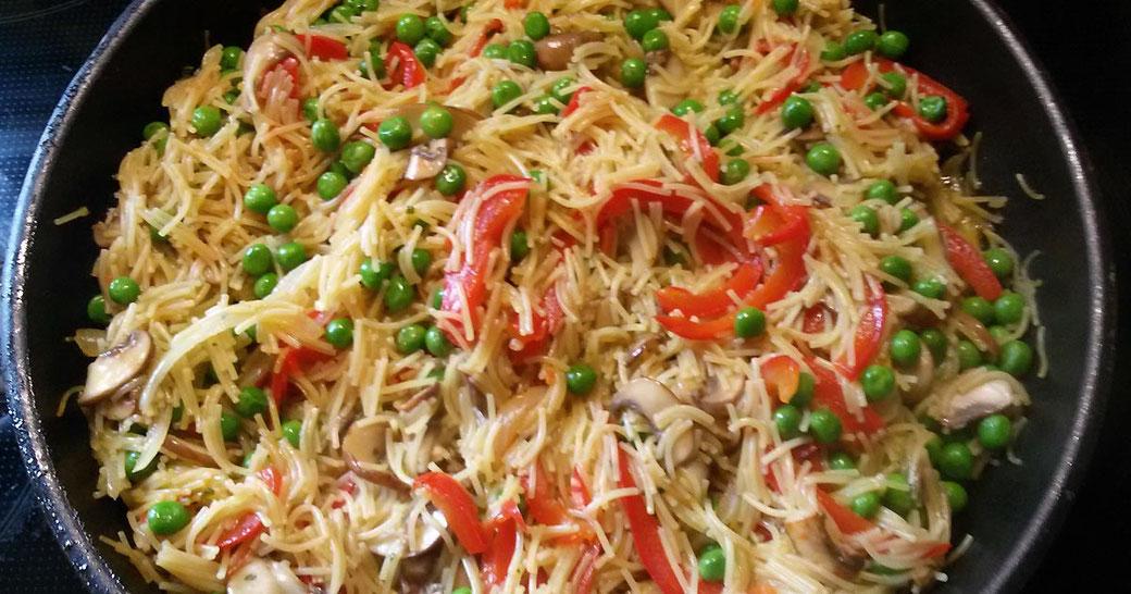 Blog Rezept Gemüse-Paella