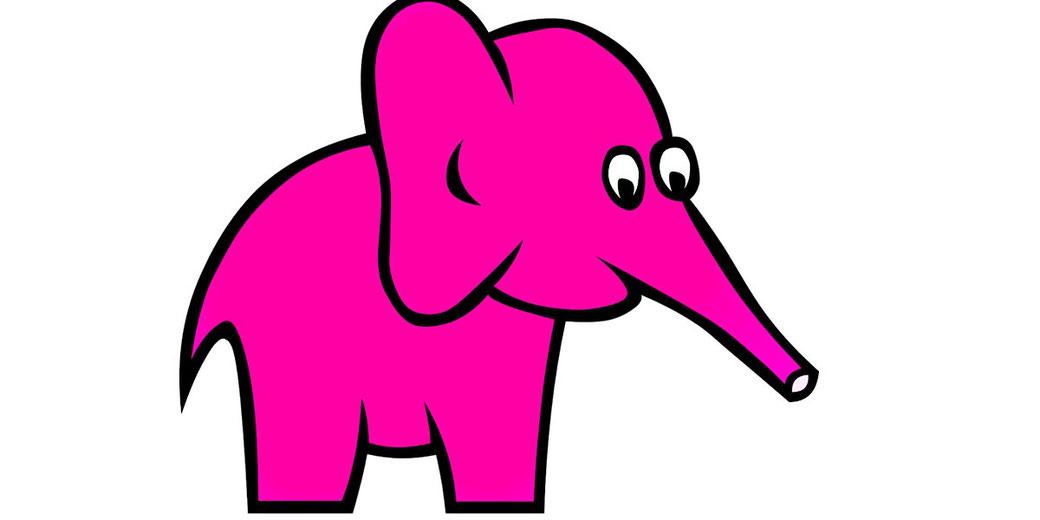 Blog: ich liebe meinen rosa Elefanten