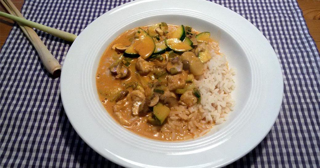 Curry mit Zitronengras