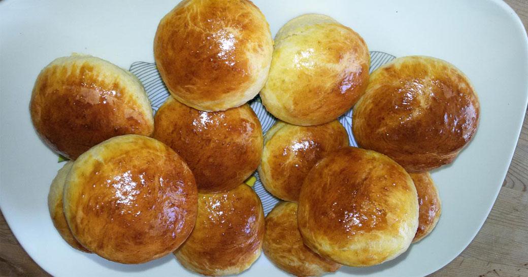 Rezept Hefe Muffins