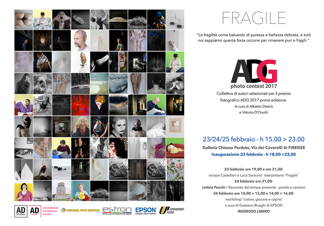"ADG photocontest 2017 - Tema ""Fragile"""