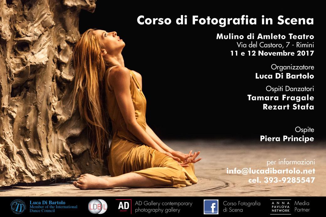 Corso di Fotografia di Scena a cura di Luca Di Bartolo - Rimini