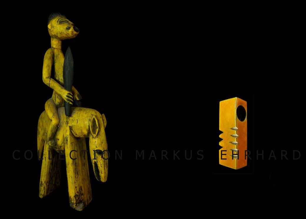 Die Senufo Reiterfigur als Inspiration für den Silberschmuck von Ornito