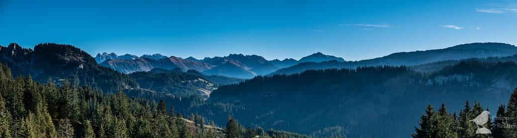 Allgäuer Alpenpanorama