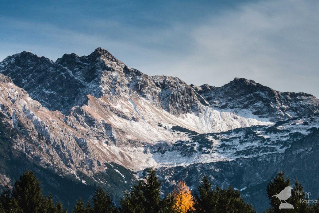 Nebelhorn im Herbst