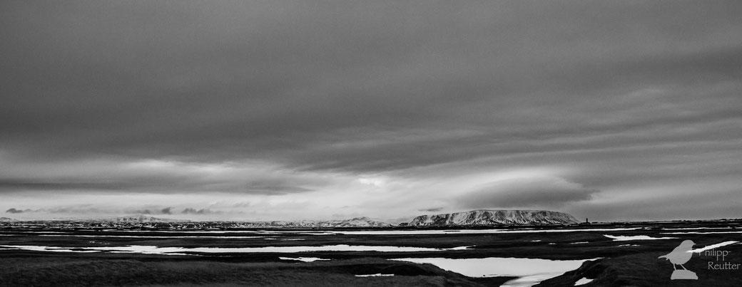 Landschaft bei Selfoss