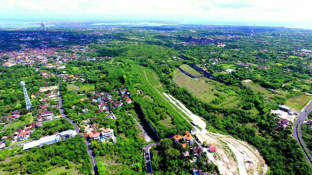 4 hectare land for sale in Ungasan with ocean view.