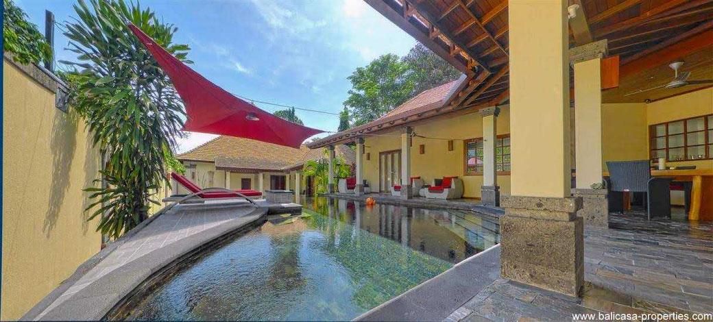 Sanur beach side villa for sale