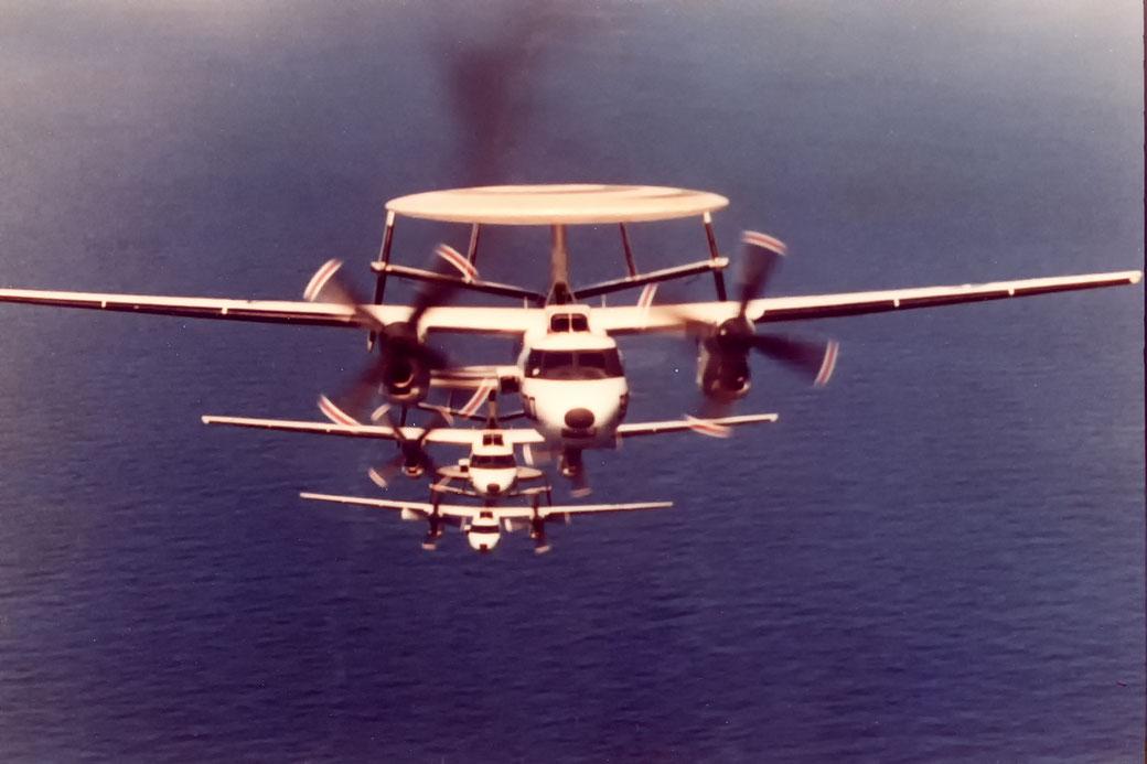 Northrop Grumman E-2 Hawkeye Squadron VAW 123