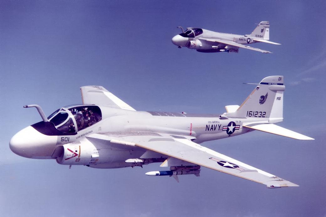 Grumman A-6E Intruder Squadron VA 34