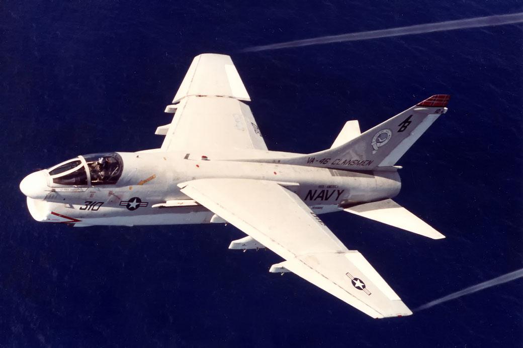 Vought A-7B Corsair II Squadron VA 46