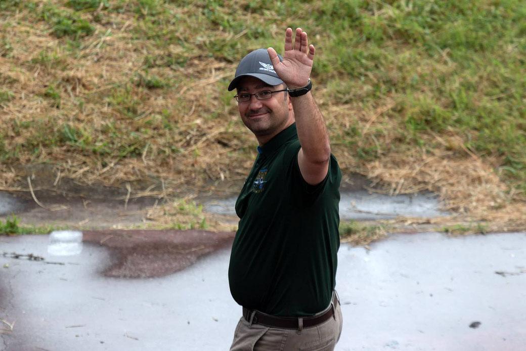 Moreno Aguiari, project manager della spedizione della formazione americana
