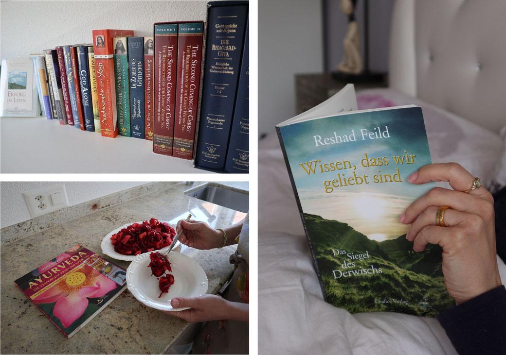 Buch Yoga, Buch Ayurveda, spirituelle Romane