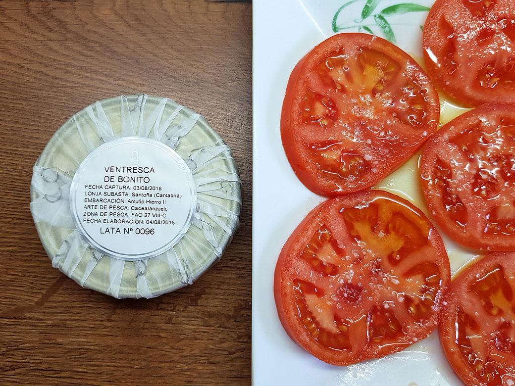 recetas bonito con tomate
