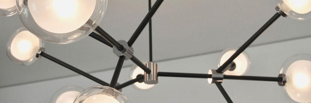 Moderne Beleuchtung einer Hänge-Lampe