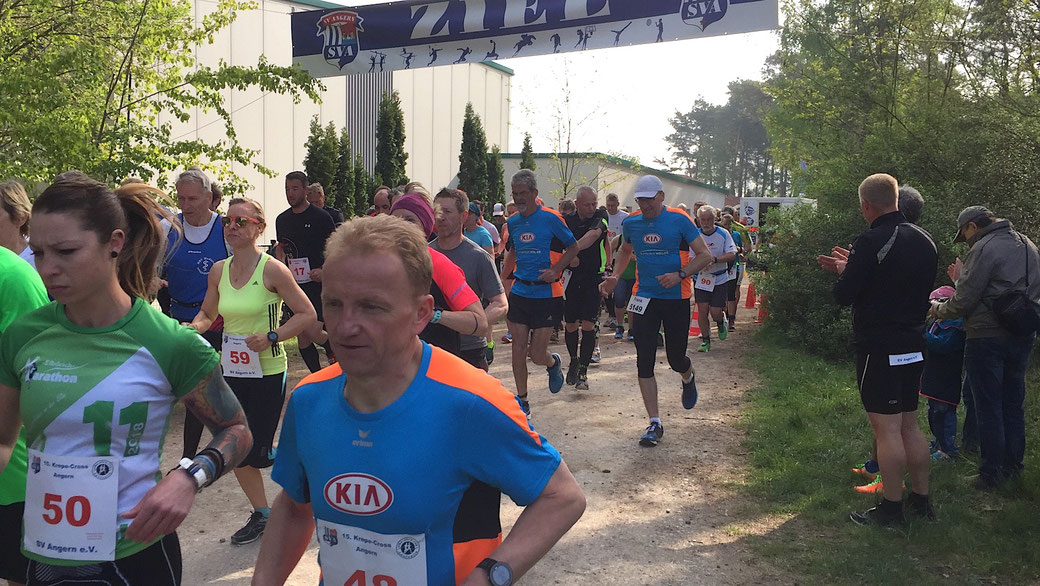 Der krepe-Cross in Angern findet traditionell am 1. Mai statt. Foto: Alpha-Report