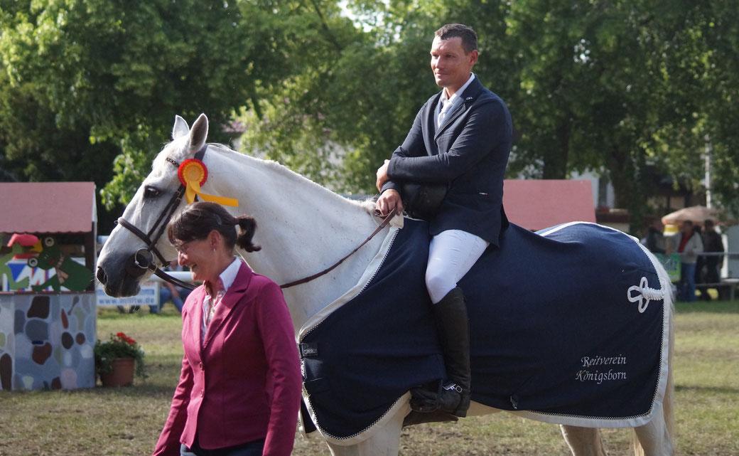 Unter anderem gewann Christof Kauert den Großen Preis von Königsborn. Foto: Alpha-Report